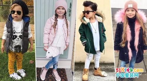 可以带给宝贝们10分暖度的外套单品——派克大衣&羽绒服