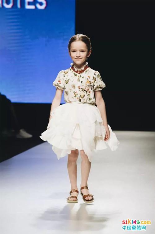 拉脱维亚童装品牌Paade Mode亮相里加时装周,SS2018系列春意盎然