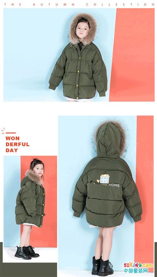 ULLU童装 像冬天里温暖的外套