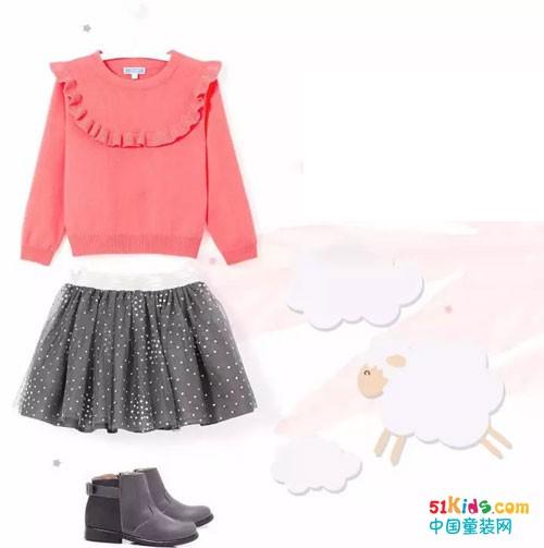 软糯温暖的羊绒衫,宝宝冬天里的第二肌肤