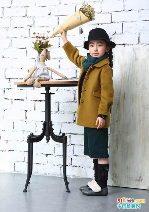 冬季穿什么样的外套好看?海贝童装给你答案!