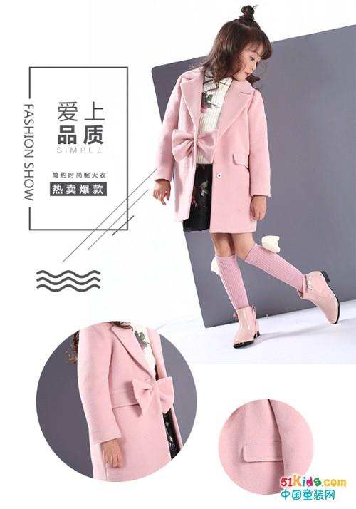 KIKI小鬼当家童装丨还有什么比呢大衣更显气质呢?