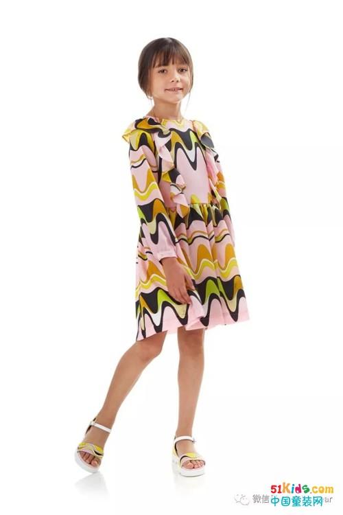 意大利知名品牌Emilio Pucci 2018春夏童装系列