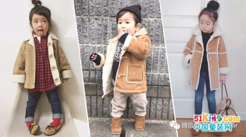 潮娃冬季单品!又暖又时尚的鹿皮绒大衣