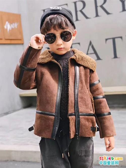 """时尚正""""棕""""经典,拉童木童装扮靓你的童年!"""