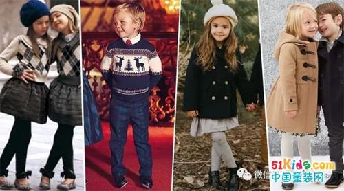 超受欢迎的潮娃圣诞单品,穿好它们做最有型的小达人!