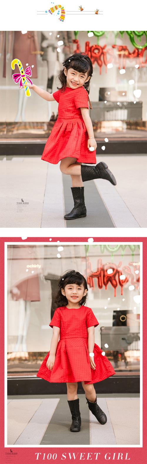 时·刻照相馆 | 手把手教宝妈用1种圣诞红打造5个圣诞Look~