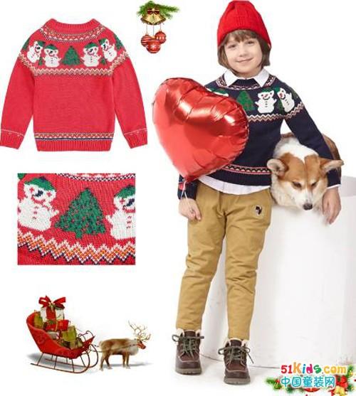 2种风格4款内搭,让圣诞小精灵穿上BlingBling的温暖!