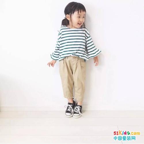 没穿过条纹元素的宝宝 还真不敢说自己时尚
