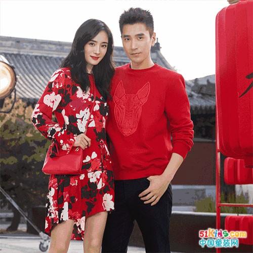 H&M新春系列 明星同款迷你版!超可爱宝贝新年装GET!