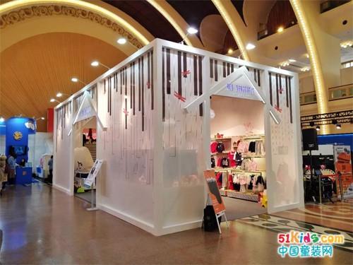 红蜻蜓儿童品牌2018全新亮相上海国际少儿生活方式展