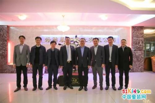 中国纺织工业联合会调研团莅临石狮市季季乐服装织造有限公司