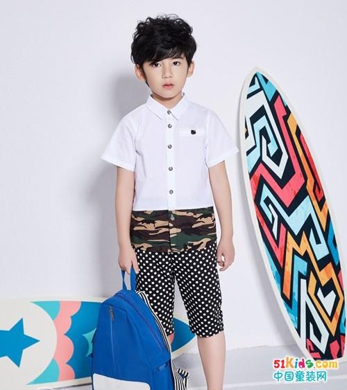 适合小男孩的夏装有哪些 布童凡想给你不同的时尚