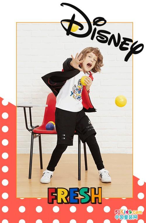 Moomoo童装品牌:与米奇米妮一起放开玩!