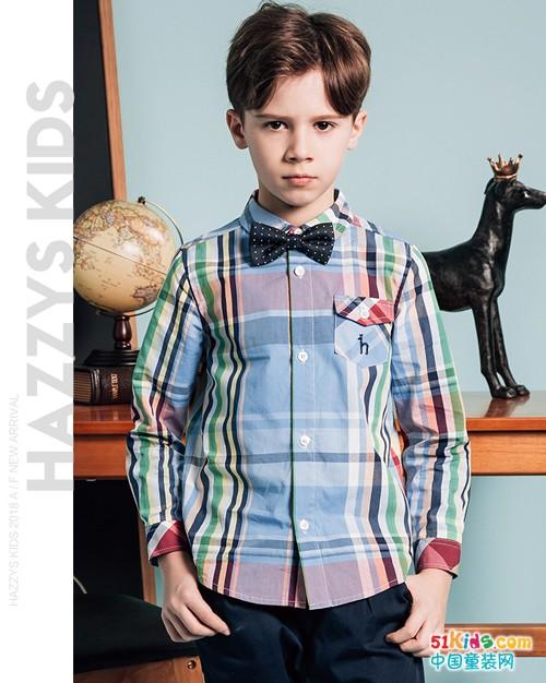 哈吉斯童装:浓郁的英伦风情