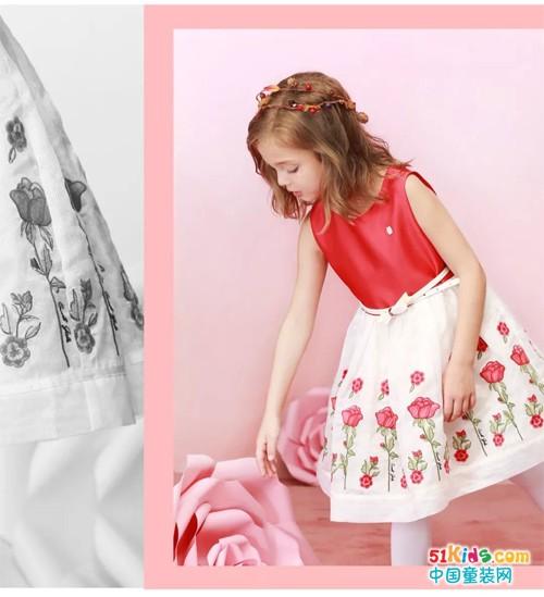 一条迷人的公主裙,点亮如诗般的夏