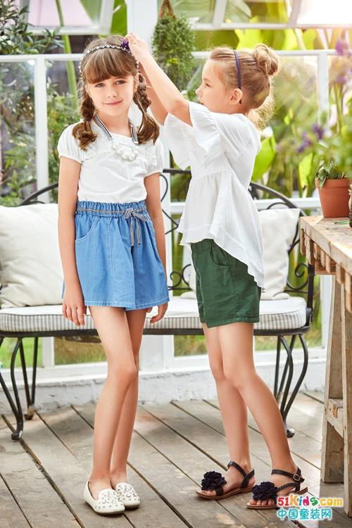 青蛙皇子童装:夏季穿搭尽显都市时尚休闲风格!