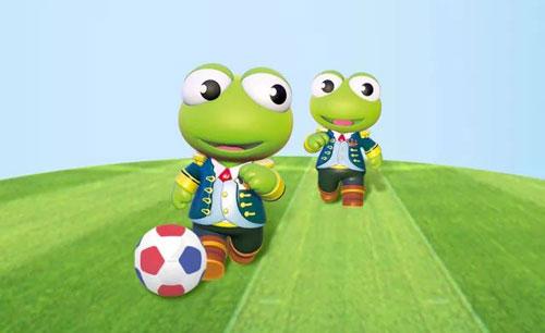 """青蛙皇子""""世界杯运动装"""",陪伴孩子追逐梦想_中国童装网"""