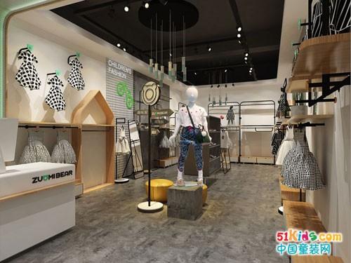 祝贺佐米熊轻潮童装·南京太平商场店盛大开业