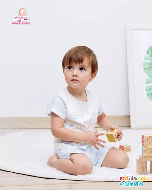 清爽舒适的婴儿内衣,给宝宝清凉一夏