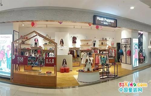 暇步士童装德州百货店,店铺形象全新升级,华彩亮相