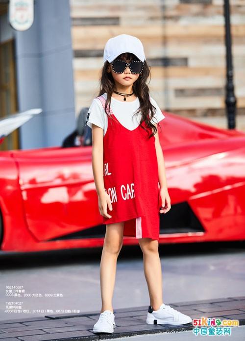 卡儿菲特童装丨简约时尚中不乏靓丽色彩