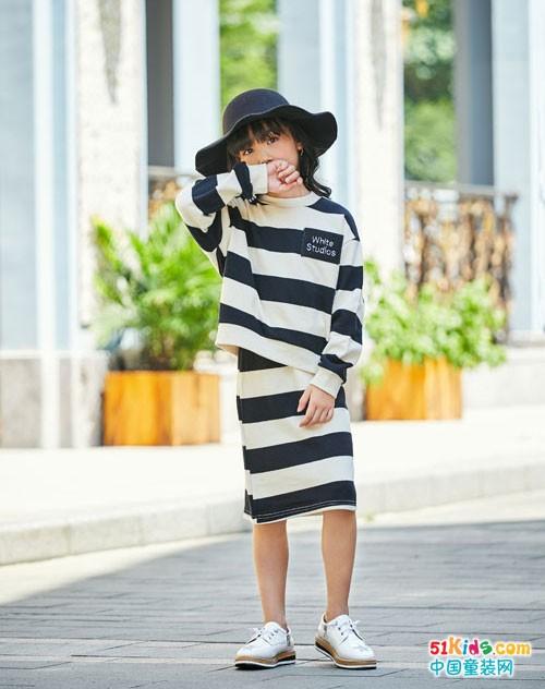 拉斐贝贝童装 条纹元素的穿搭魅力