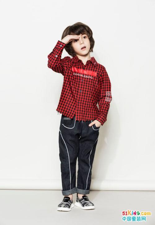 时尚小鱼童装 不仅是绅士还有更多的潮流风格