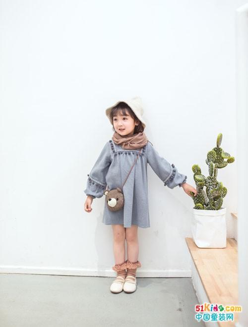 安米莉童装 时尚穿搭中有自然之美