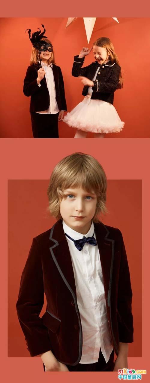 米喜迪丨小西装&礼服裙,华丽变身派对主角