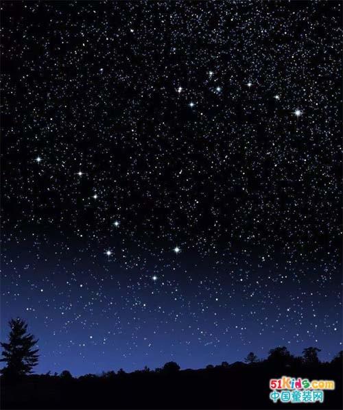 如果你是黑夜里最美的那颗星,我便是那一片浩瀚的星空蓝