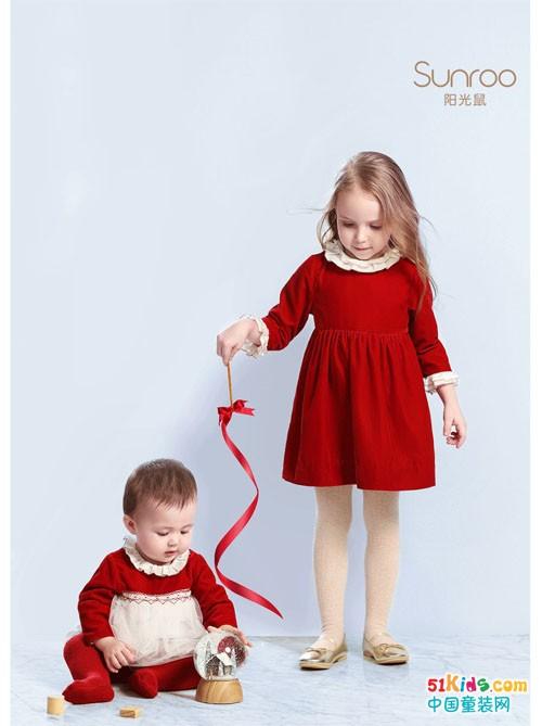 上新啦!美好富有仪式感的丝绒,宝宝也想要穿