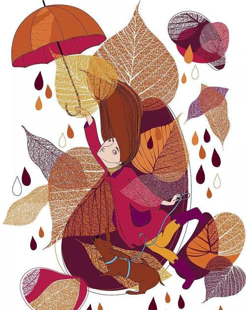 【MEMORY IN 秋日物语】裙衫的别样生活,邂逅初秋的暖意