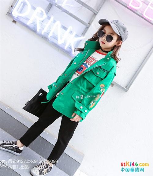 林馨儿童装的风格丨小淑女或者潮女范一样可爱