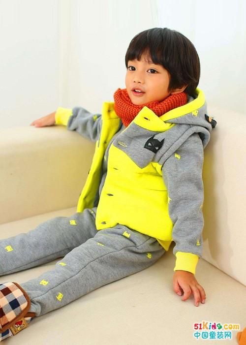 2018年初冬之季,小神童品牌让你的衣着色彩碰撞