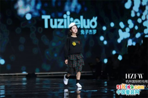 兔子杰罗携手小童星【2019SS杭州国际时尚周】秀时尚魅力