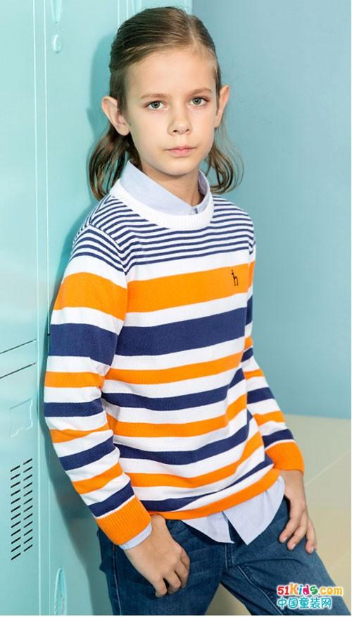 哈吉斯童装 品质来源于高端设计理念