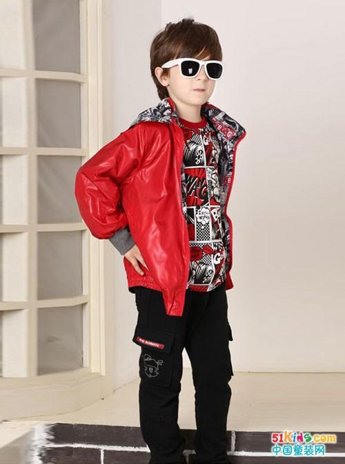 这样搭配,可以让孩子绽放最时尚是一面哦!