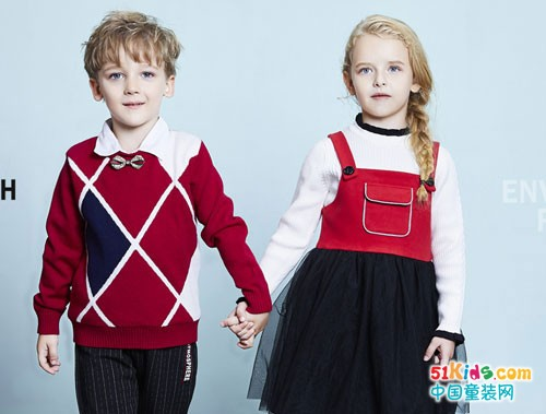 杰米兰帝童装 温暖的羊毛衫是冬季最贴心的礼物
