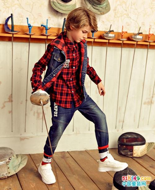 巴柯拉童装 冬天里充满时尚运动活力
