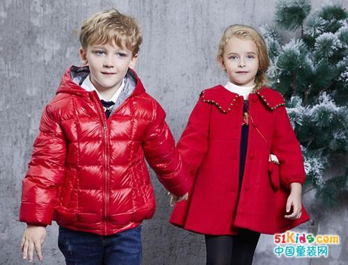 杰米兰帝童装 倒计时,盛装迎接圣诞老人的礼物