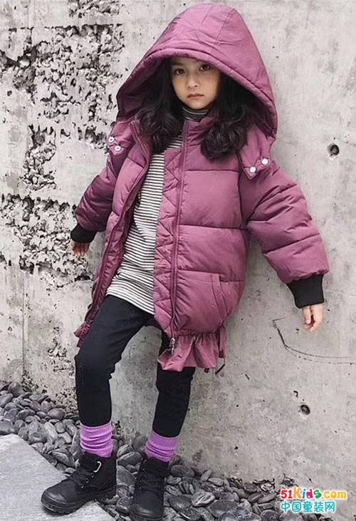 变冷了变冷了,给你加孩子穿上保暖时尚的衣服吧