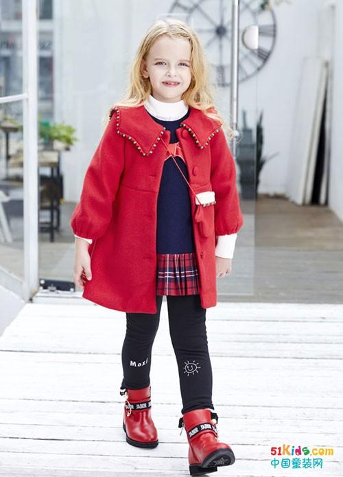 杰米兰帝童装 小朋友都喜欢保暖又好看的冬款童装