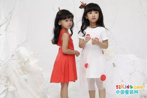 DIZAI童装 彩绘童真,遇见橘子味的夏天