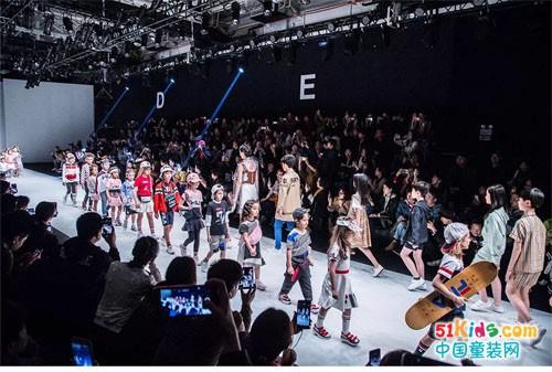 上海时装周丨FILA KIDS开启春夏潮酷风尚