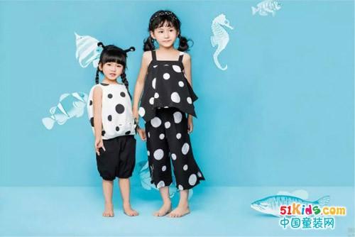 穿上海威迩童装 风景同样美