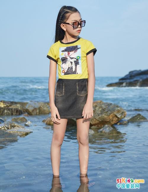 拉斐贝贝童装 可以和大海一样酷劲十足