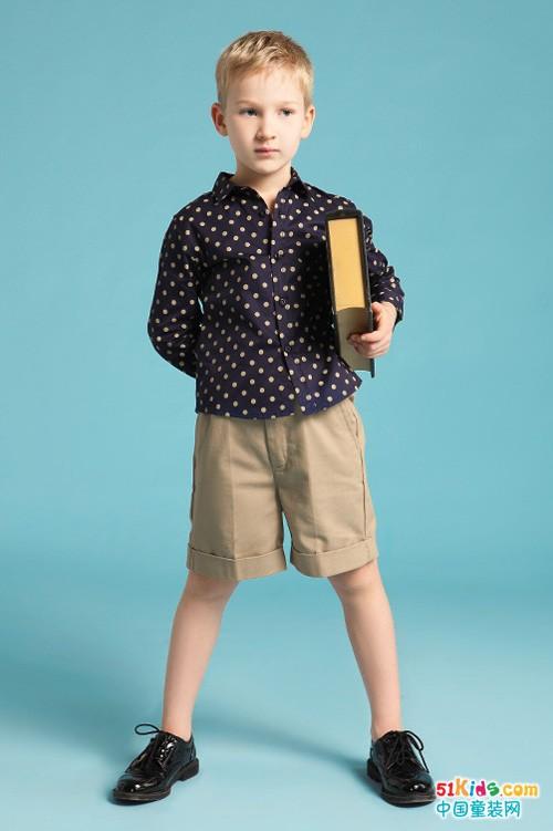 """伊頓風尚童裝時令款來襲 高貴好看的""""不像樣子"""""""