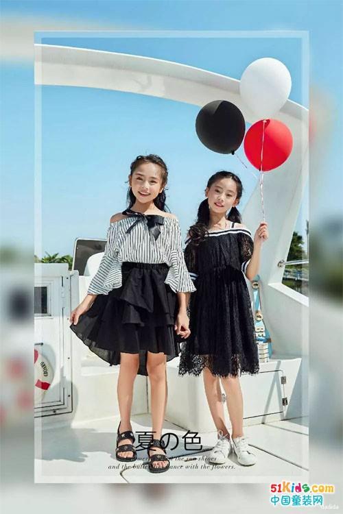 """黑白配——简单时尚,这夏天""""潮""""我看~"""