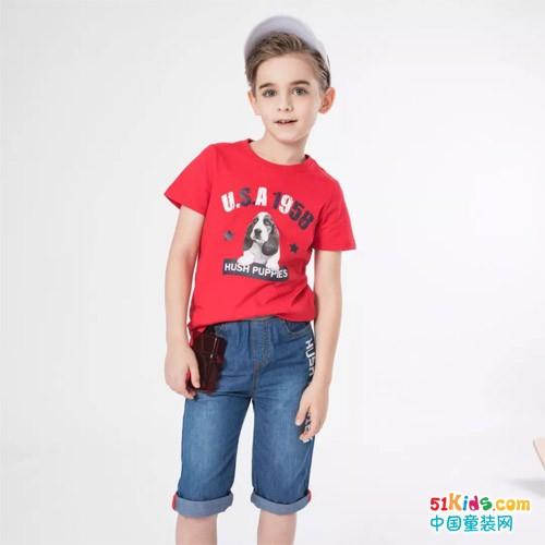 一件T恤的多种穿法,承包萌宝一夏天的时髦!